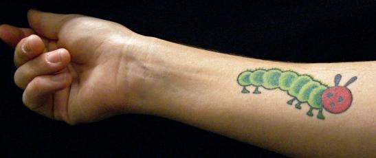 eric carle tattoo