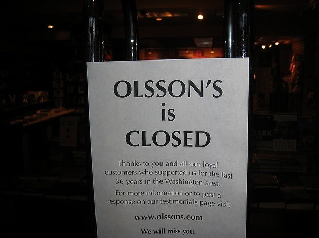 olsson's is closed