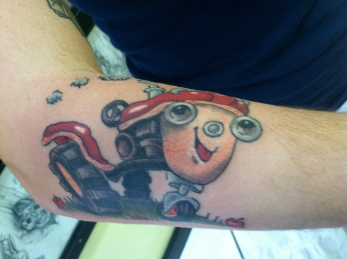 Otis tattoo