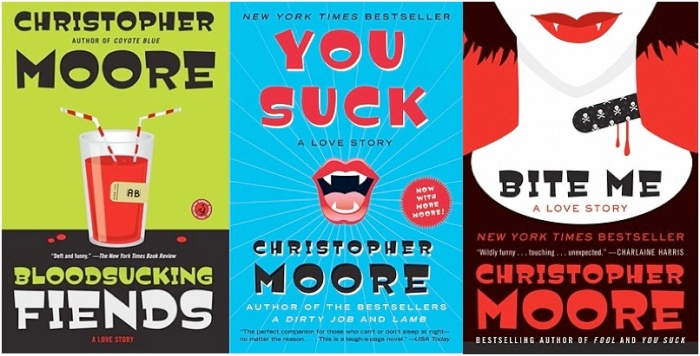 Moore vampire trilogy