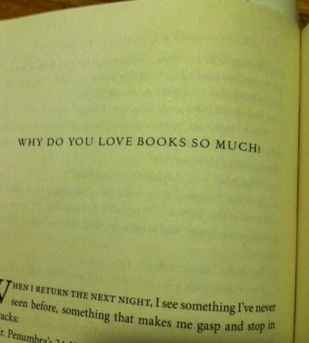 why do you love books so much