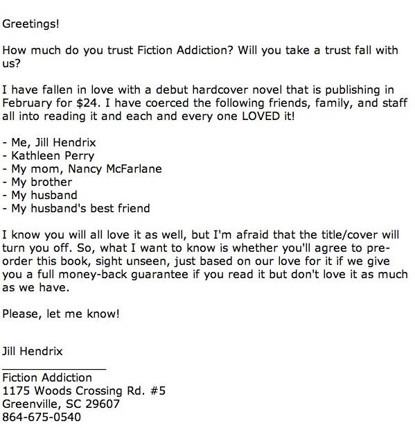 fiction addiction trust fall