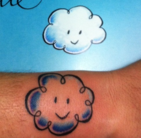 Cloudette tattoo