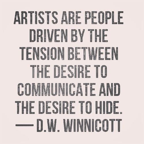 winnicott artists